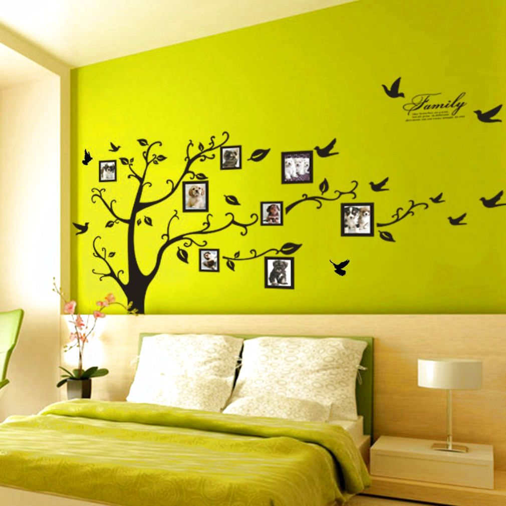Large Photo Picture Frame Family Tree Removable Wall Sticker Decor ...