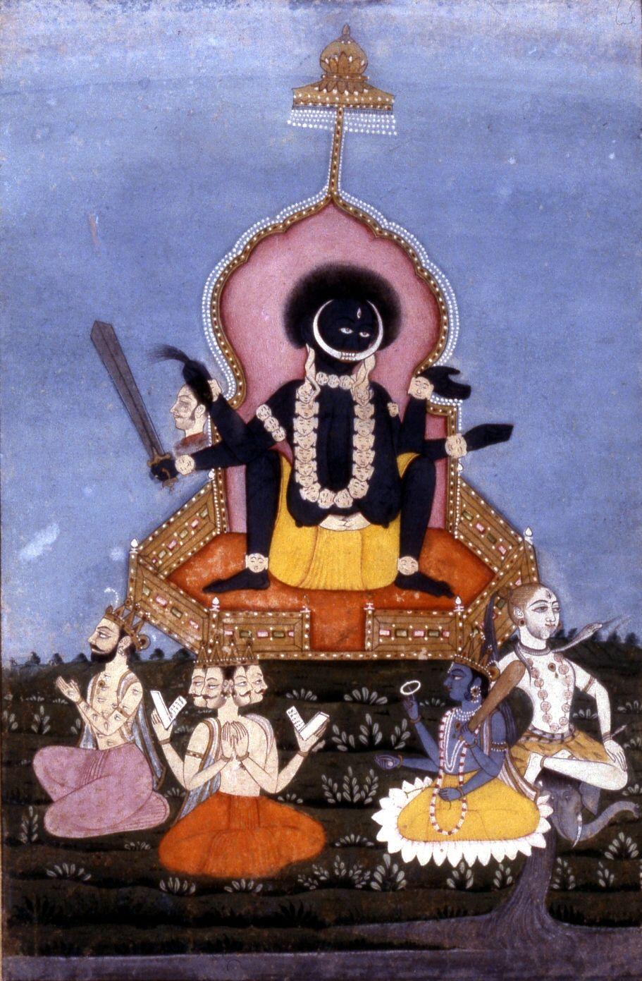 Black and Beautiful Ma Kali