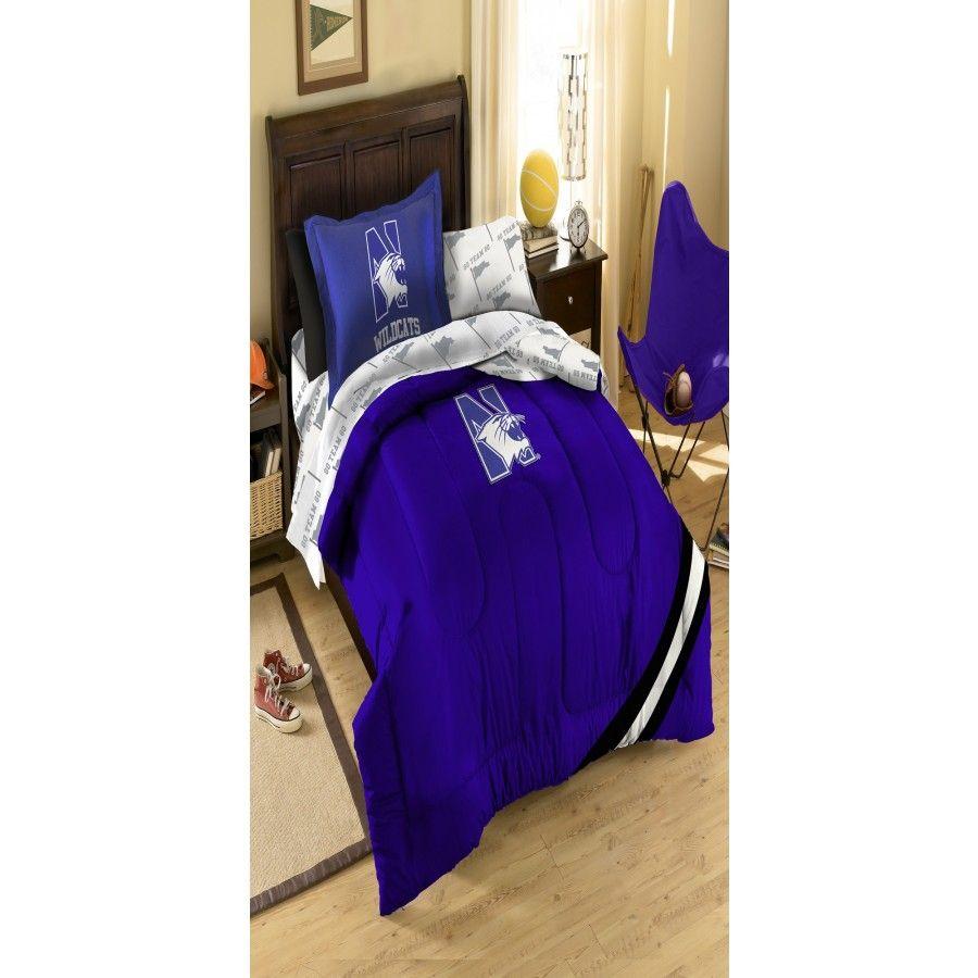 Northwest Co College Northwestern Bed In Bag Set 1col 4059 Bbb