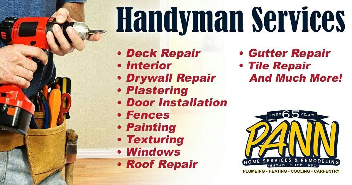 Woburn Handyman Drywall repair, Deck repair, Gutter repair