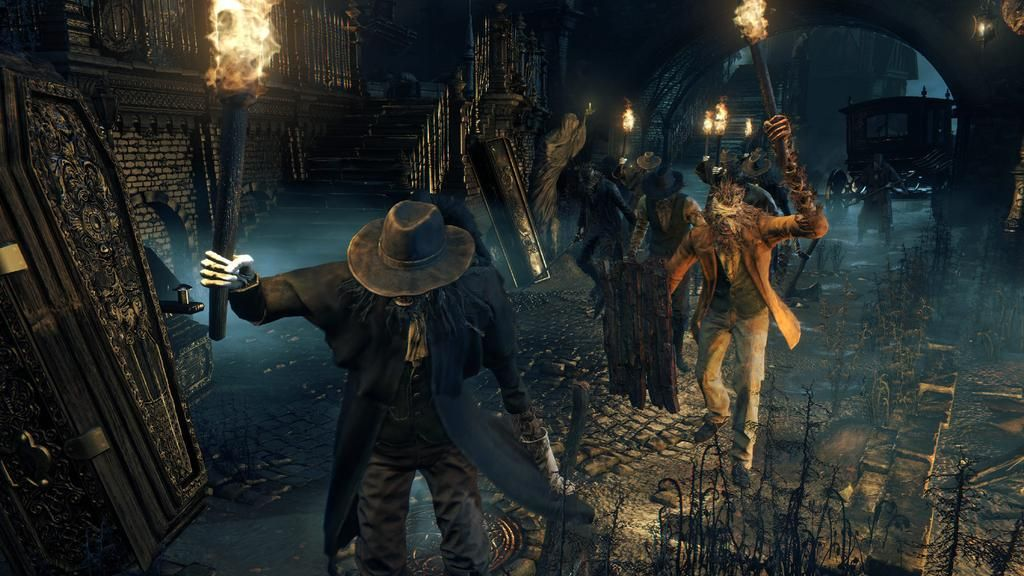 Video Game On Bloodborne Games To Buy Ps4 Games