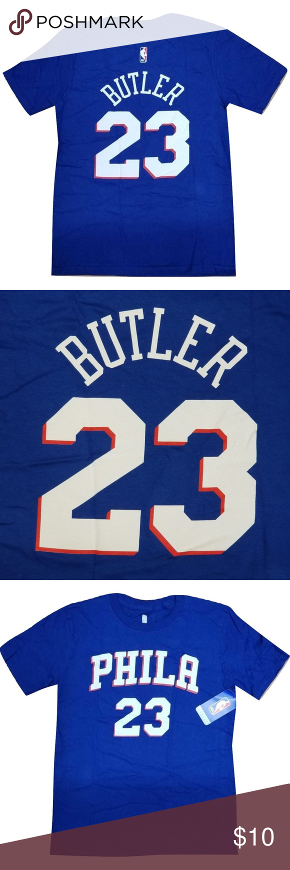 NBA Philadelphia 79ers Jimmy Butler Tshirt sz XL NBA