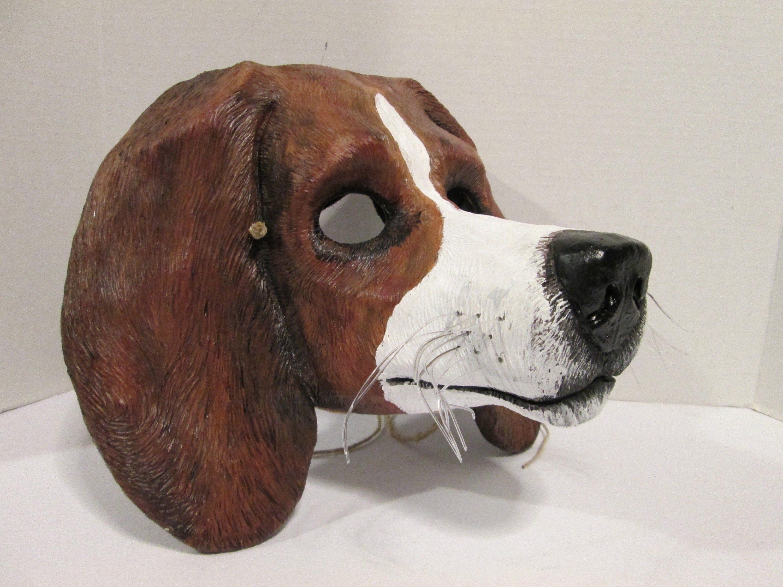 Beagle Mask Basset Hound Show Dog Miranda Dog Costume Mask