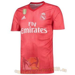 Tercera Camiseta Real Madrid 2018 2019 Rojo Nuevas Camisetas Futbol Camisetas Personalizadas Camisetas Camisas