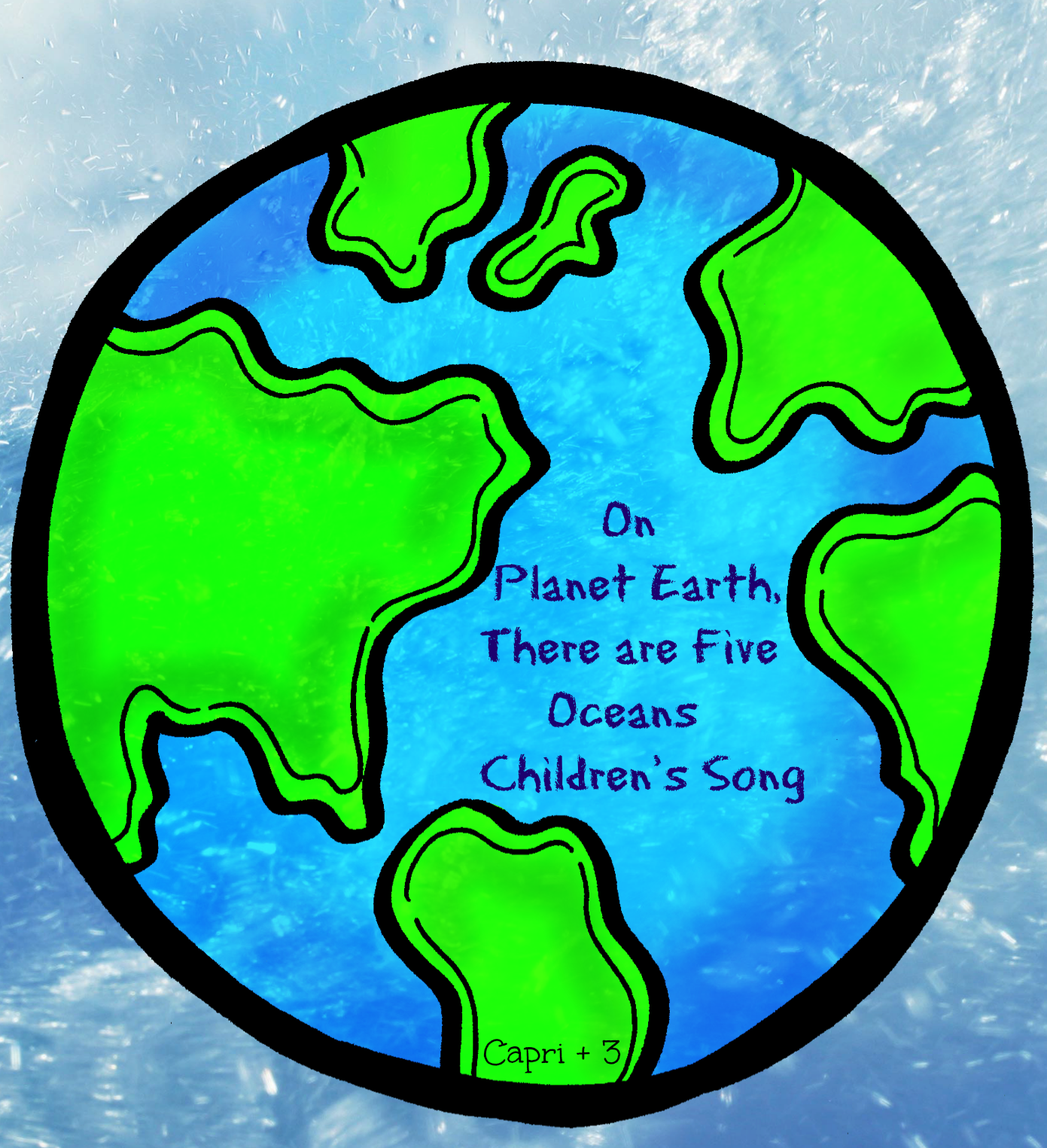 On Planet Earth, There are 5 Oceans\