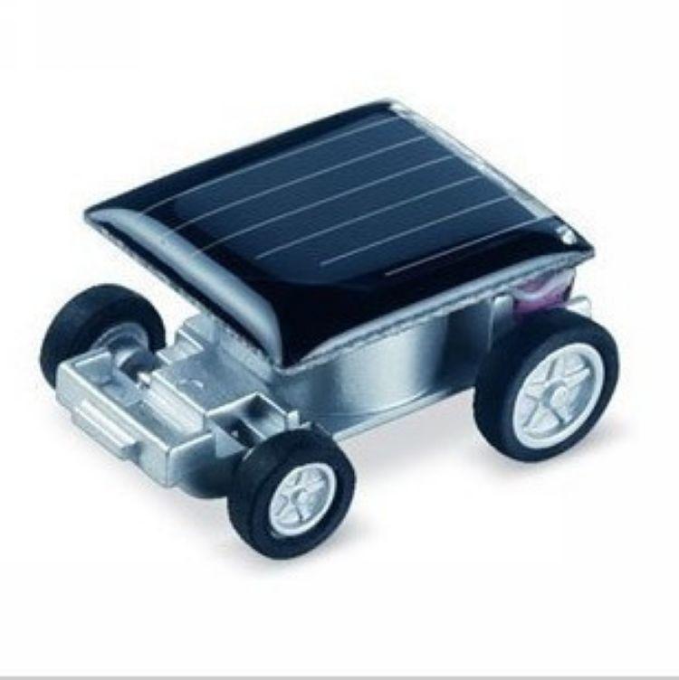 Creativa Solar kits de Juguetes Mini Coche Solar Novedad juguetes sol Regalo juguetes máquina de aprendizaje de la Educación Física y juguetes eléctricos