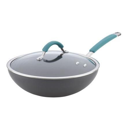 Photo of Rachael Ray Cucina Hard-Anodized Nonstick Covered 11″ Stir F…