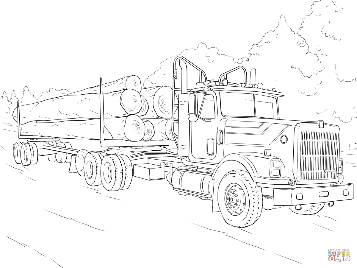 Coloring pictures of cars truck tractors - Find This Pin And More On Coloring Vehicles By Limburgpaladin