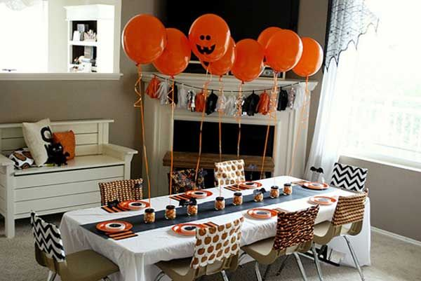 36\ - halloween table setting ideas