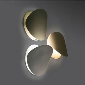 Applique murale orientable en métal diamètre 19cm Ovo                                                                                                                                                                                 Plus #luci