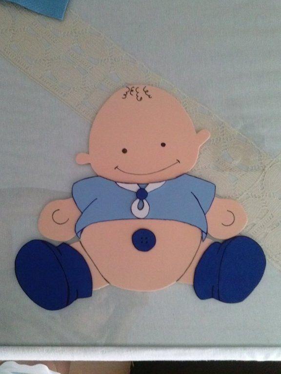 goma eva bebes | Aprender manualidades es facilisimo. | Baby ...
