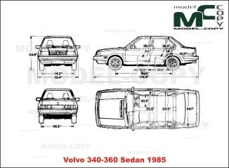 Volvo 340 360 sedan 1985 blueprints ai cdr cdw dwg dxf eps volvo 340 360 sedan 1985 blueprints ai cdr cdw malvernweather Images