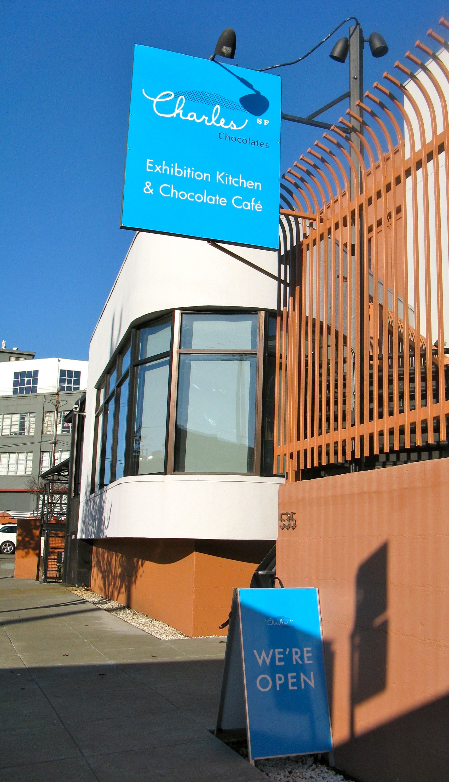 Charles Chocolates storefront in the Mission District of San ...