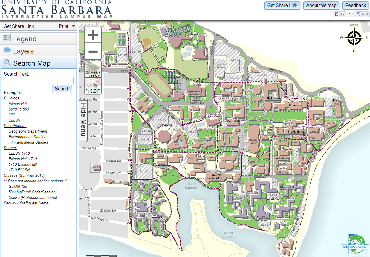 Ucsb Not That Impressive Regarding Their Well Known Gis Team But