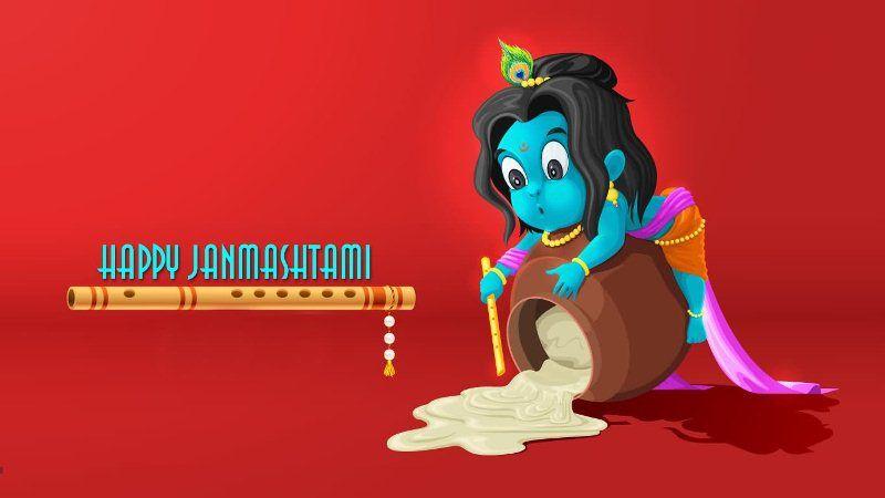 Bal Krishna Janmashtami Images Hd Happy Janmashtami Janmashtami Wallpapers Krishna Images