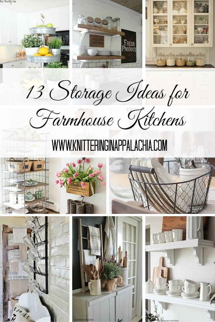 farmhouse kitchen organization and storage | Household ideas ...
