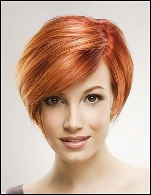copper blonde hairstyles for short hair