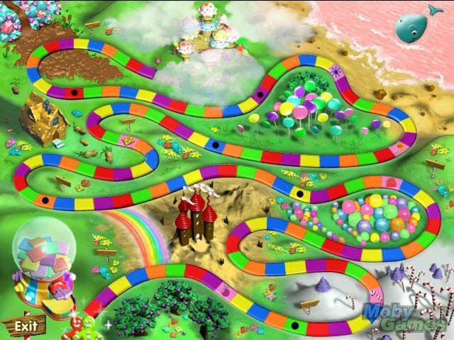 CANDY LAND CANDYLAND PC GAME HASBRO +1Clk Windows 10 8 7 Vista XP