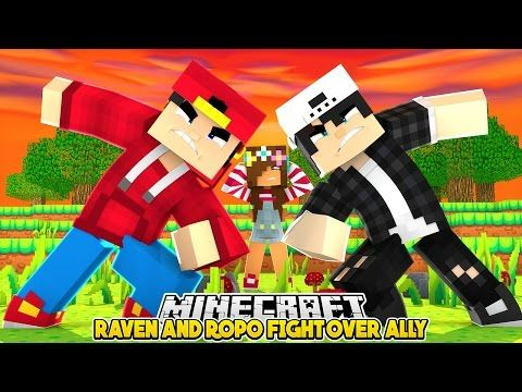 Minecraft - Little Ally - ROPO'S GIRLFRIEND HATES ME!! - YouTube