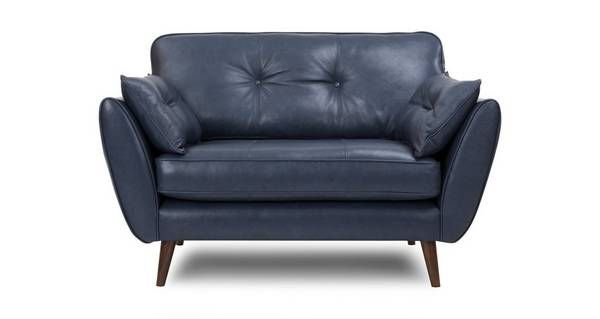 Leather Cuddler Chair Easy Home Decorating Ideas