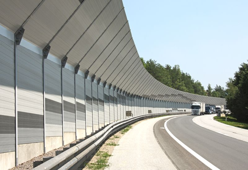 Captivating Highway Noise Barrier   Google Search