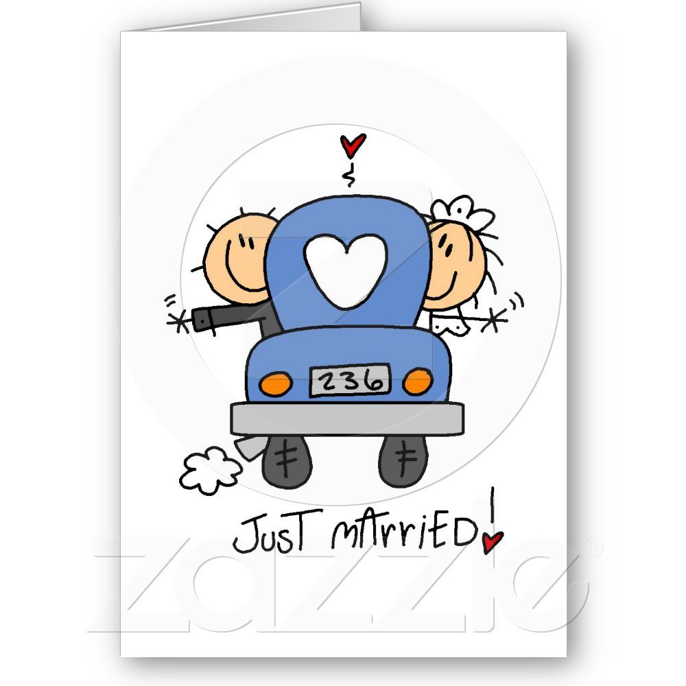 Stick Figure Wedding Thank You From Zazzle So Cute And Can Include