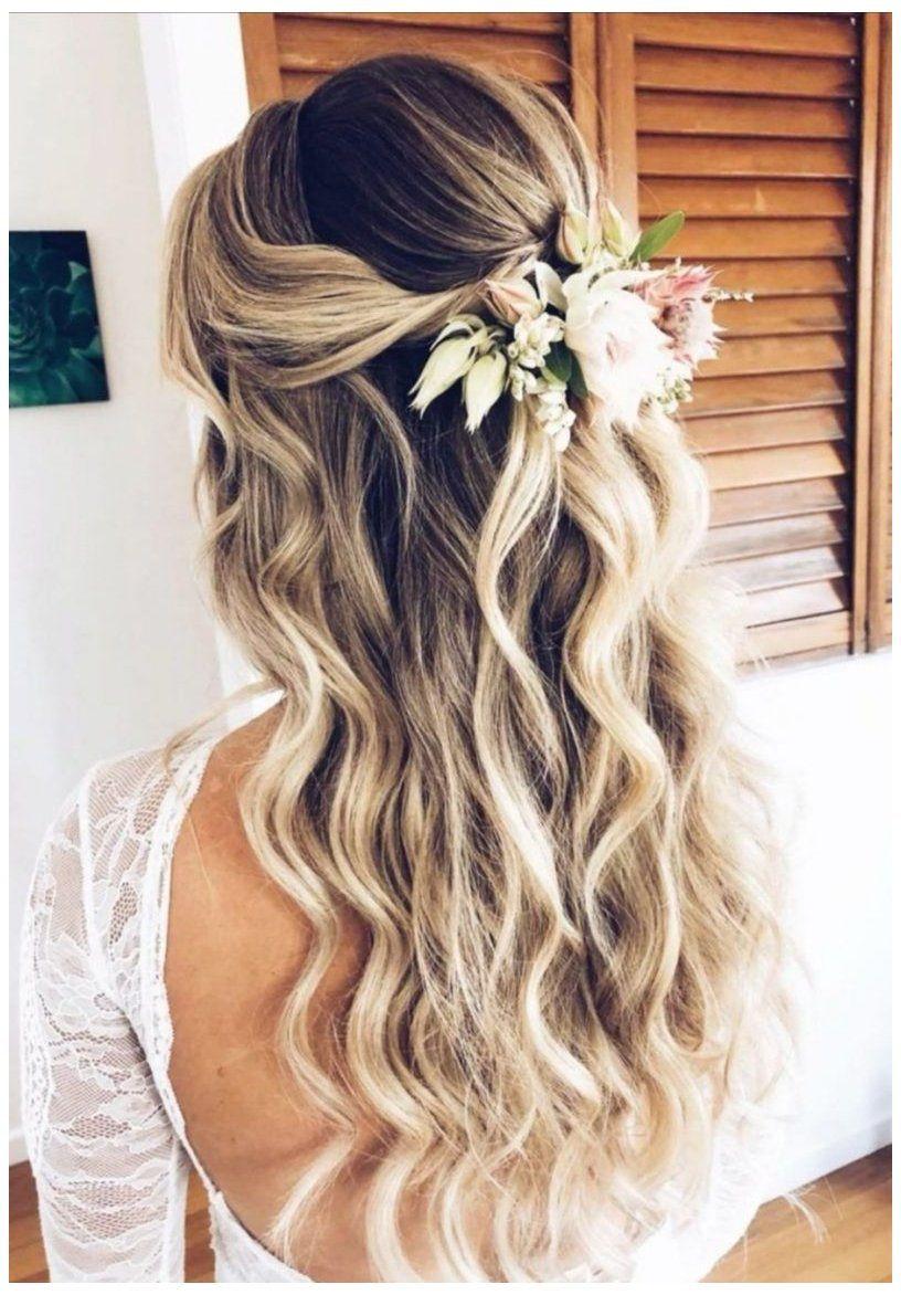 wedding bridesmaid hair half up Gallery