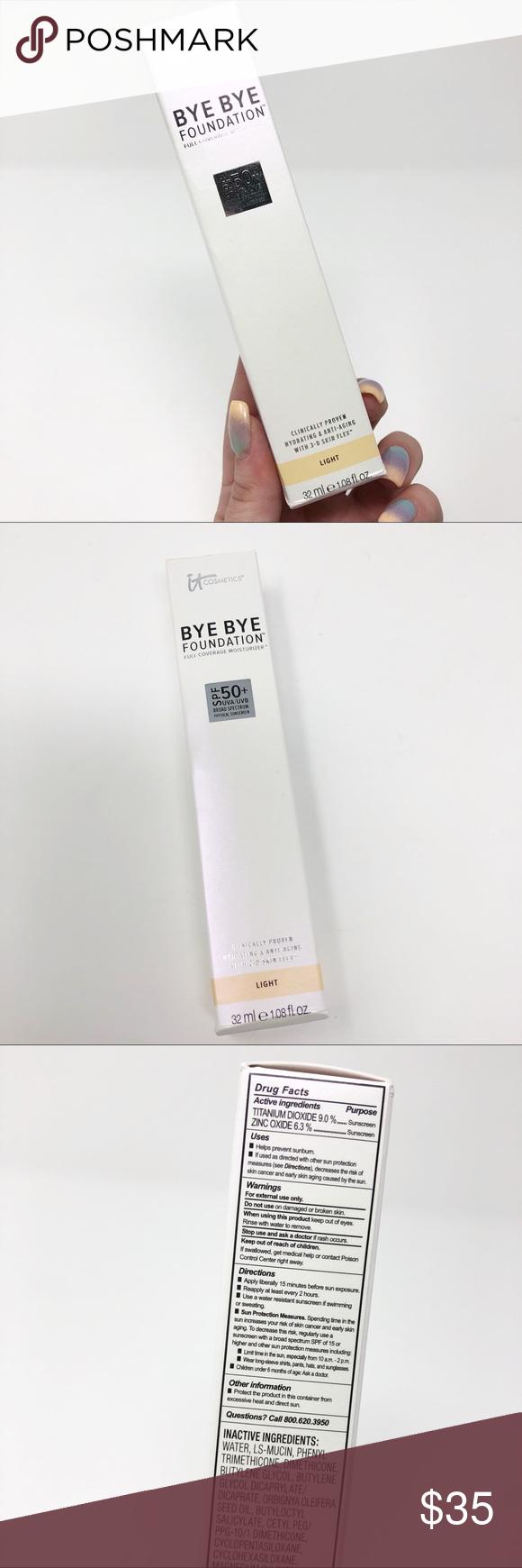 IT Cosmetics Bye Bye Foundation Full Coverage Bye Bye