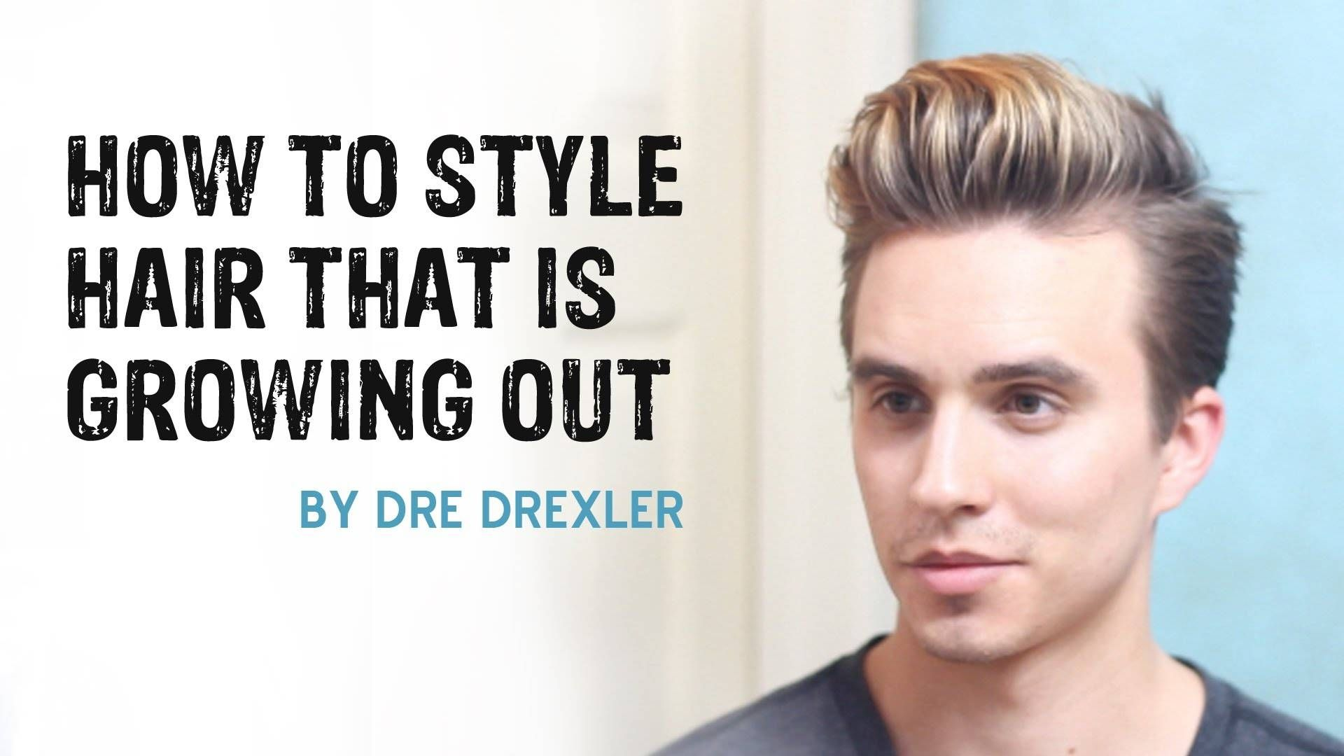 Top How To Style Your Hair For An Undercut Growing Out Hair Growing Hair Men Growing Your Hair Out