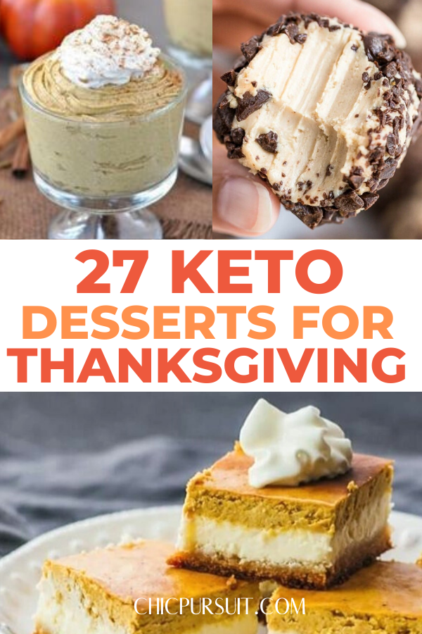 27 Best Keto Thanksgiving Desserts Recipes Of All Time ...