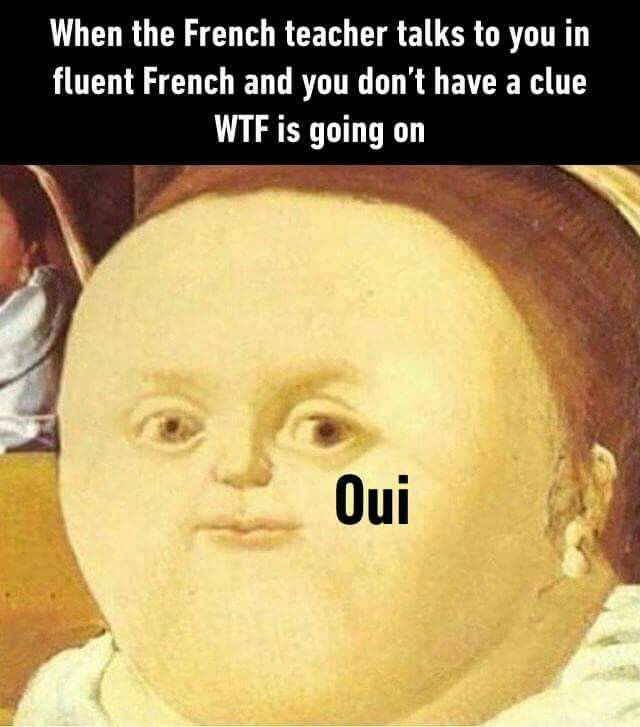 French Class Historical Memes Really Funny Memes Stupid Memes