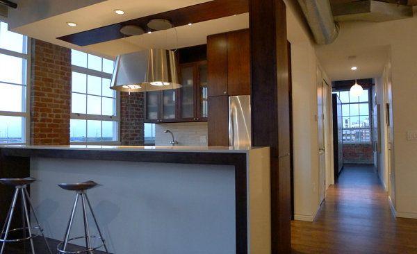 3 Urban Lofts With Unforgettable Style Modern Kitchen Set