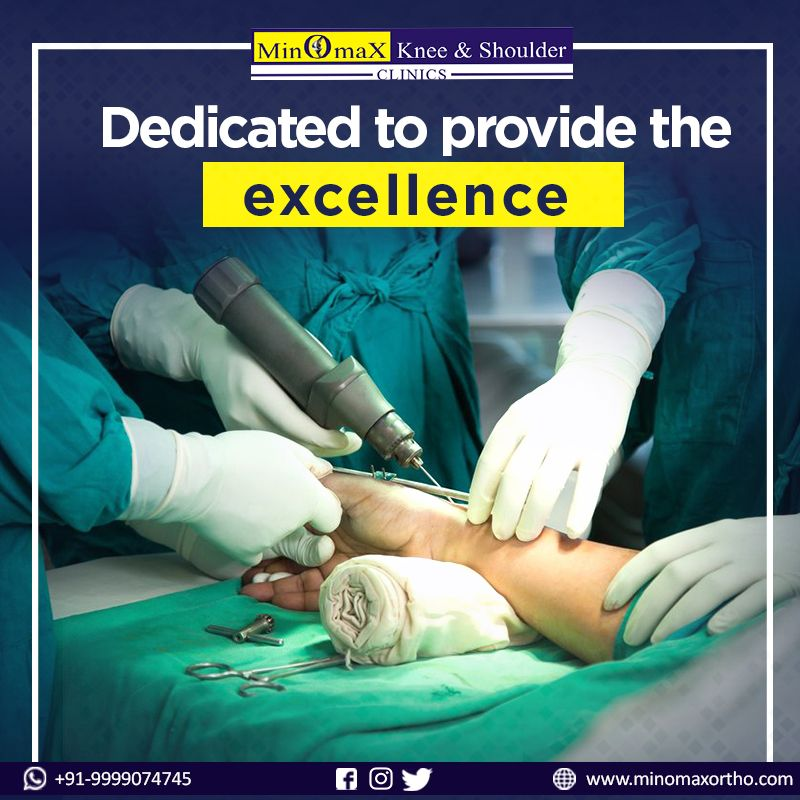 Dedicated to provide the excellence in Orthopaedic surgery