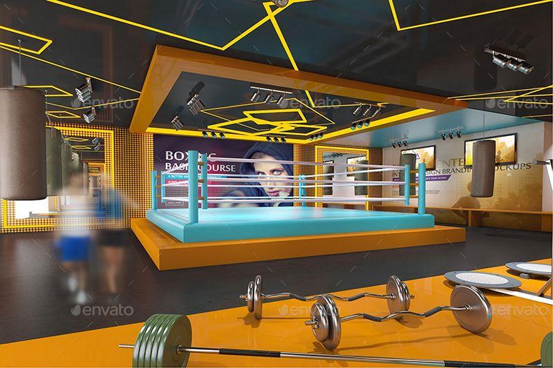 gym design Gym Pinterest Gym interior and Interiors