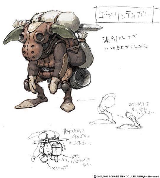 Goblin - Final Fantasy   Concept characters   Pinterest   Universum