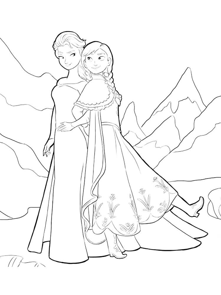 elsa frozen castle coloring page. Who doesn't know the ...