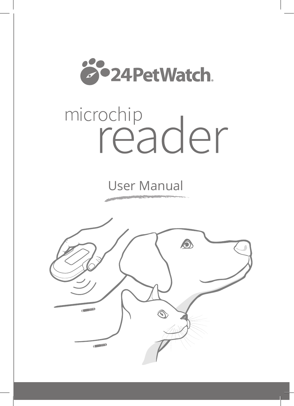HRUNI 01099-EU_02 24PetWatch Microchip Reader Manual_Pages