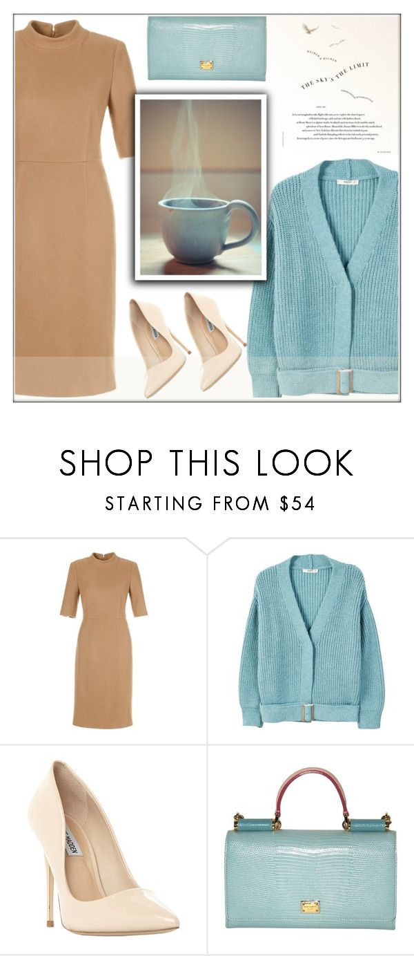 """""""Untitled #724"""" by soleuza ❤ liked on Polyvore featuring MANGO, Steve Madden and Dolce&Gabbana"""