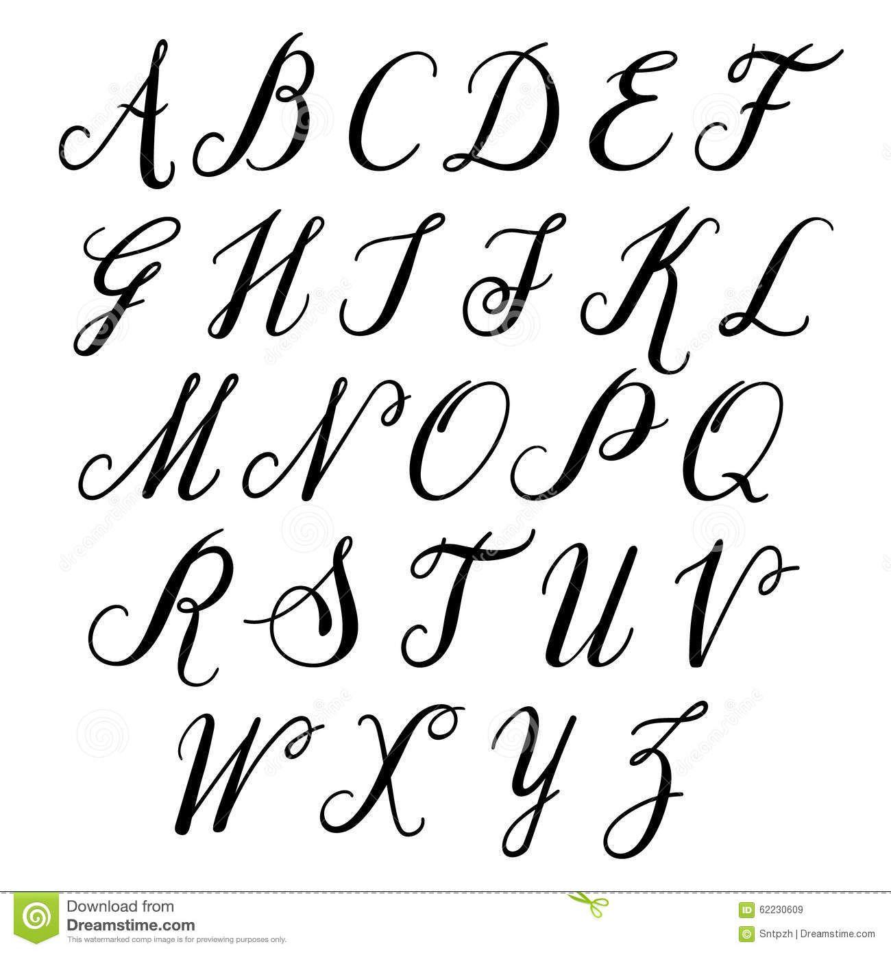 Lettres d alphabet majuscule alphabet de vecteur for Lettere moderne