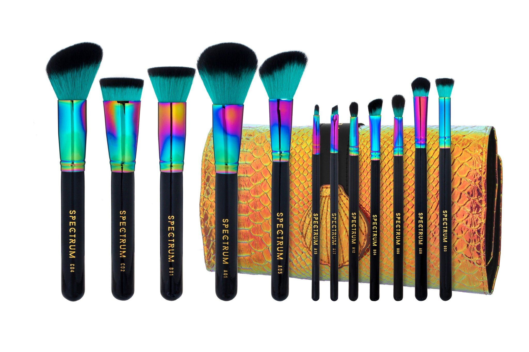 Spectrum Collection 12Piece Siren Brush Set Brush sets