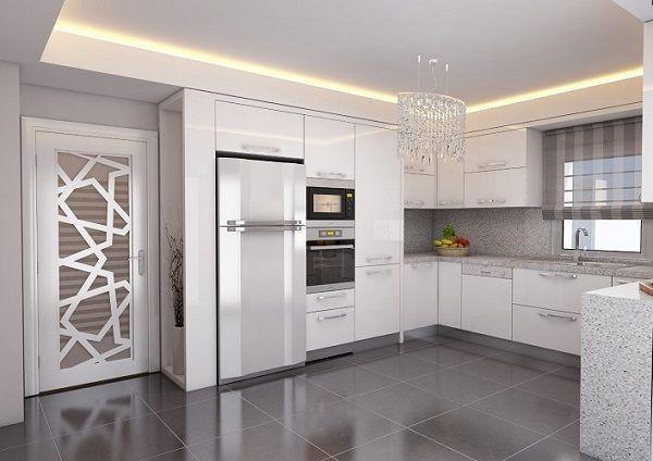 Small Kitchens Modern Kitchens White Kitchens Kitchen Interior Kitchen Decor Kitchen Ideas Reno Cuisine Kitchenettes Kitchen Cabinets