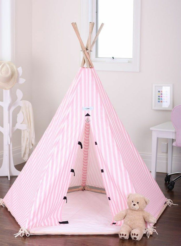 20 id es de tipi installer dans la chambre de votre enfant tipi pinterest les draps. Black Bedroom Furniture Sets. Home Design Ideas
