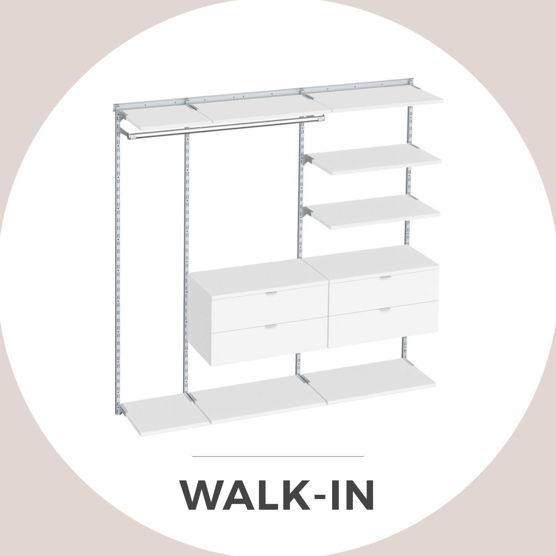 Walk In Regalsystem klassisches regalsystem für kleiderschrank und garderobe mit