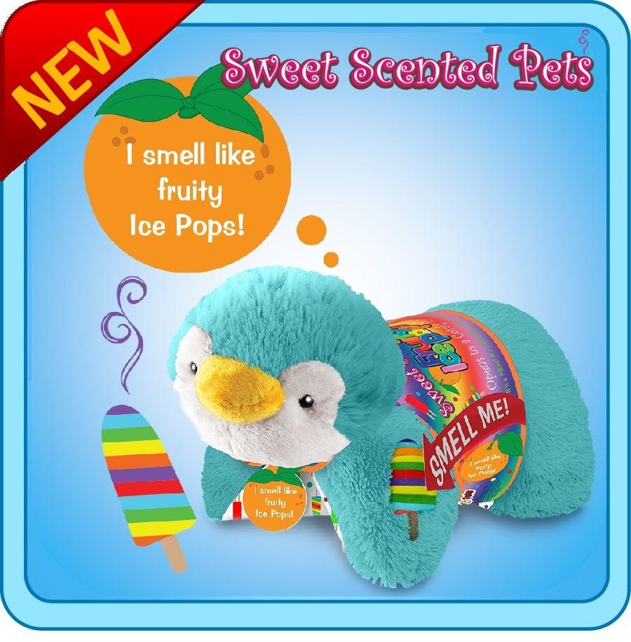 Sweet Scented Icepop Penguin Pillow Pet Animal pillows