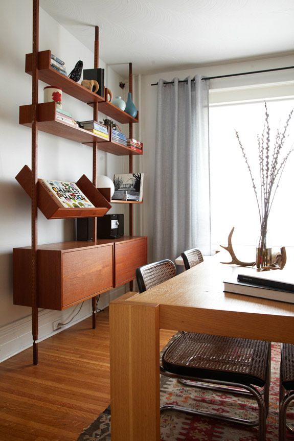 More From Hannotte Interiors Desire To Inspire Desiretoin Mid Century Modern Interiors Mid Century Modern Dining Room Furniture Mid Century Modern Bookcase