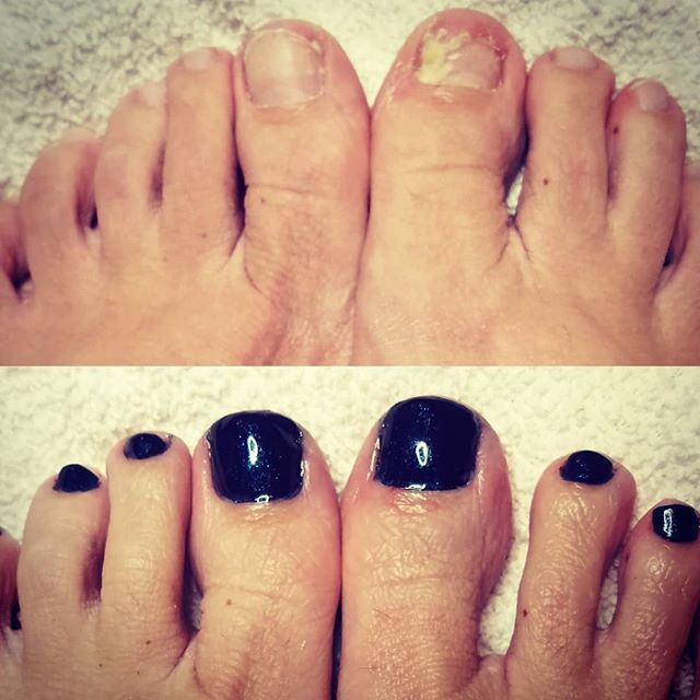 So how do you think that plastic film liner on that pedicure bowl ...