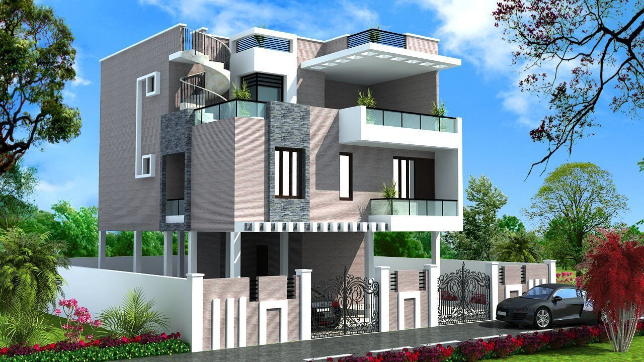 Top Catalogue Of House Front Elevation Designs (New Update)