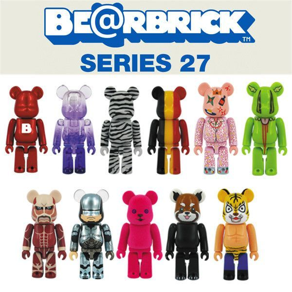 Bearbrick Series 27 - Single Blind Box
