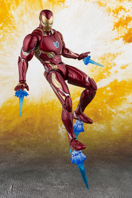 Bandai Iron Man SH Figuarts Mark 50 Nano Weapon Avengers 3