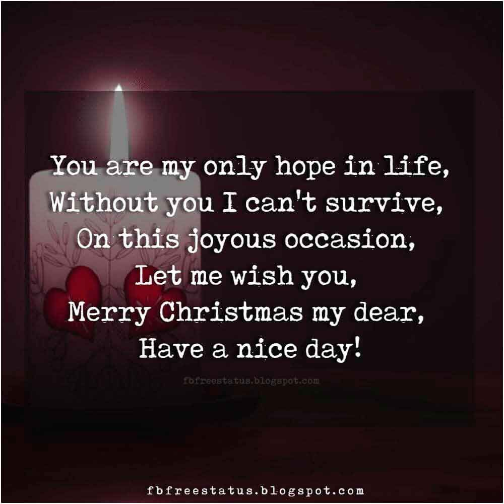 Christmas Love Quotes For Boyfriend And Girlfriend With Images Christmas Love Messages Christmas Love Quotes Love Quotes For Her